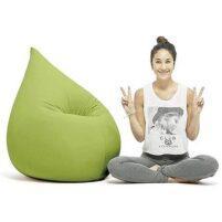 Zitzak relax groen